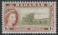 Bahamas SG202 1954 Definitive 1d unmounted mint